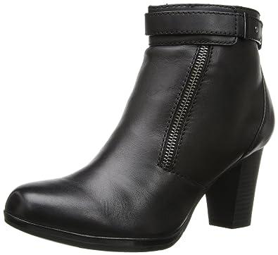 Store Wholesale Womens Boots Clarks Kalea Gillian Black Leather