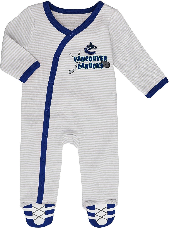 Vancouver Canucks Newborn Hockeys Best 2-Piece Long Sleeve Coverall Set