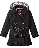 Pink Platinum Girls' Double Leopard Jacket