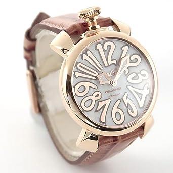 hot sale online 8568b 6415d Amazon | GAGA MILANO 5021.2 MANUALE 40MM ガガミラノ ...