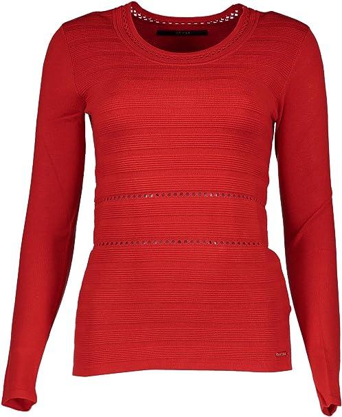 Guess Pull Brigida Rouge Taille XS: Amazon.it: Abbigliamento