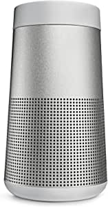 Bose SoundLink Revolve, Portable Bluetooth Speaker, water-resistant design with Spacious 360° Sound - Luxe Silver