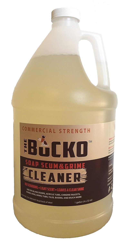 Amazon The Bucko Soap Scum And Grime Cleaner Gallon 128 Oz