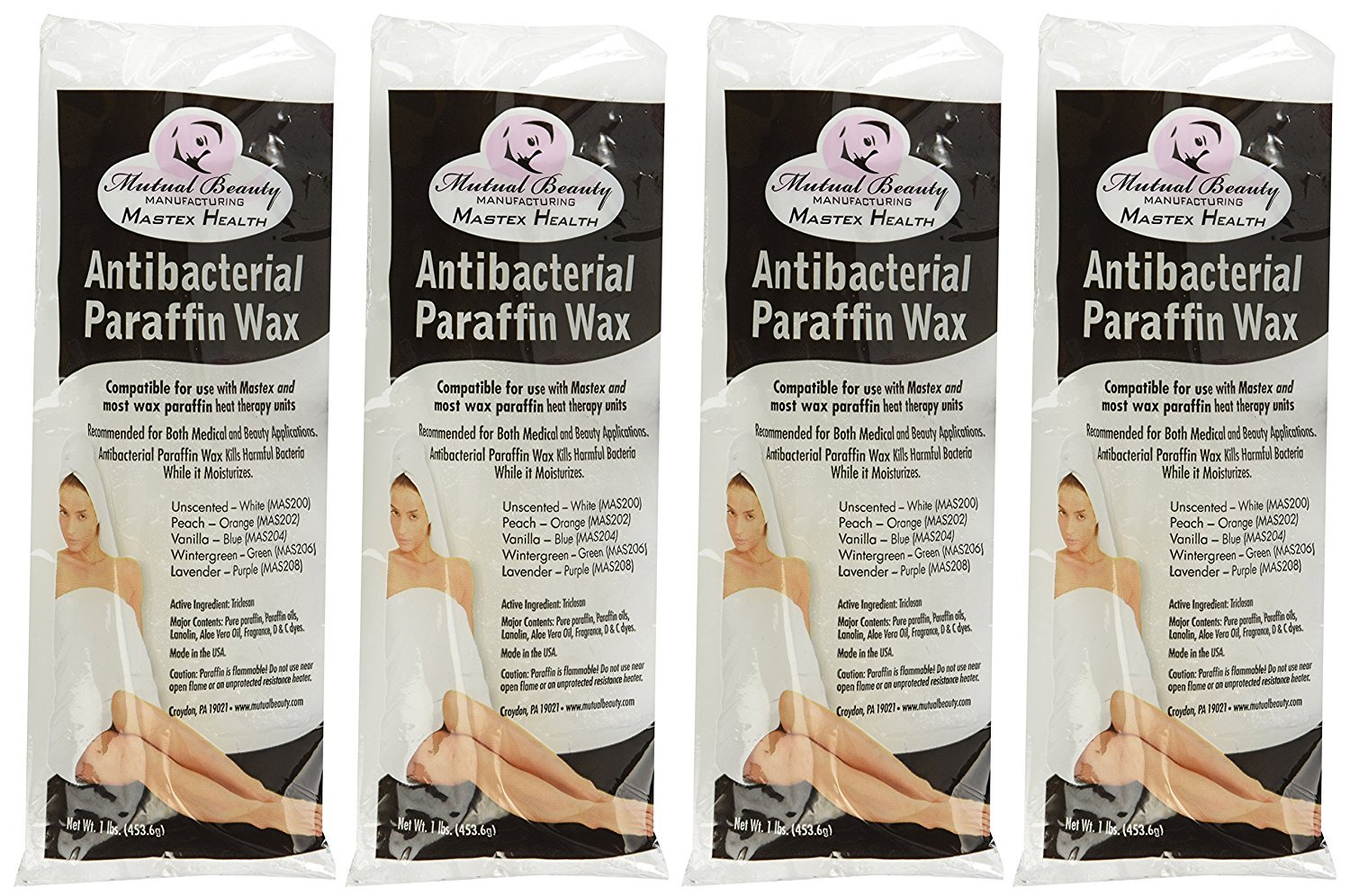 Mutual Beauty Antibacterial Paraffin Wax 6lbs - Paraffin Wax - Unscented