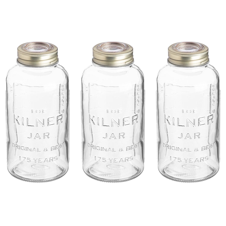 Kilner Anniversary Storage Jar Transparent 0.75 Litre