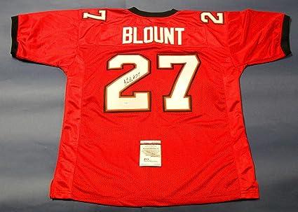 Legarrette Blount Autographed Tampa Bay Buccaneers Jersey Jsa ...
