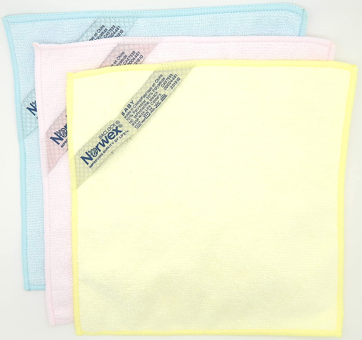 BABY TOWEL AND WASH CLOTHS YELLOW BRAND NEW WITH TAGS