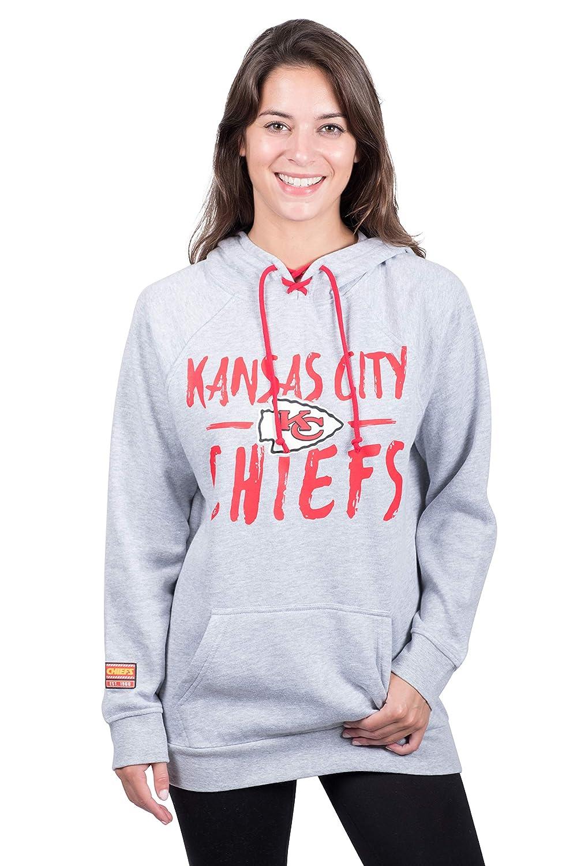 Ultra Game NFL Arizona Cardinals Womens Fleece Hoodie Pullover Sweatshirt