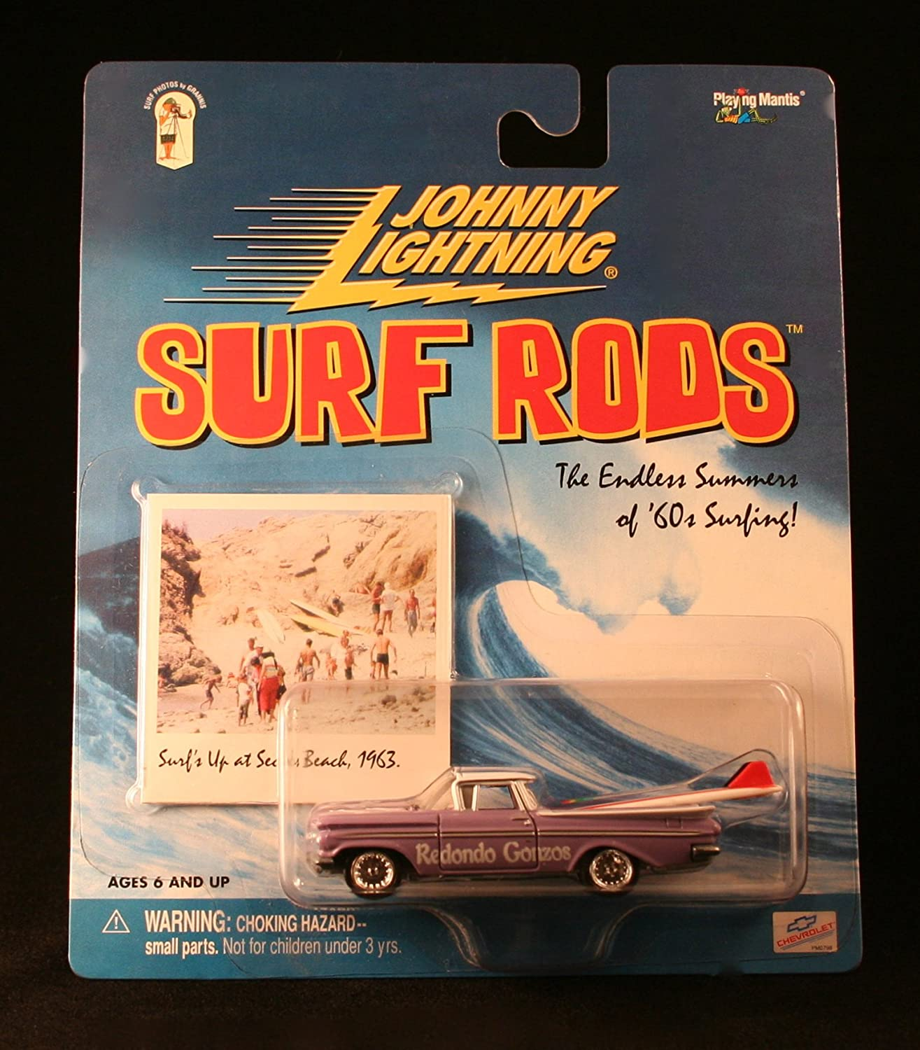 ROTONDO GONZOS  lila  Johnny Lightning Lightning Johnny 2000 SURF RODS Release One 1:64 Scale Die Cast Vehicle by J 79ea44