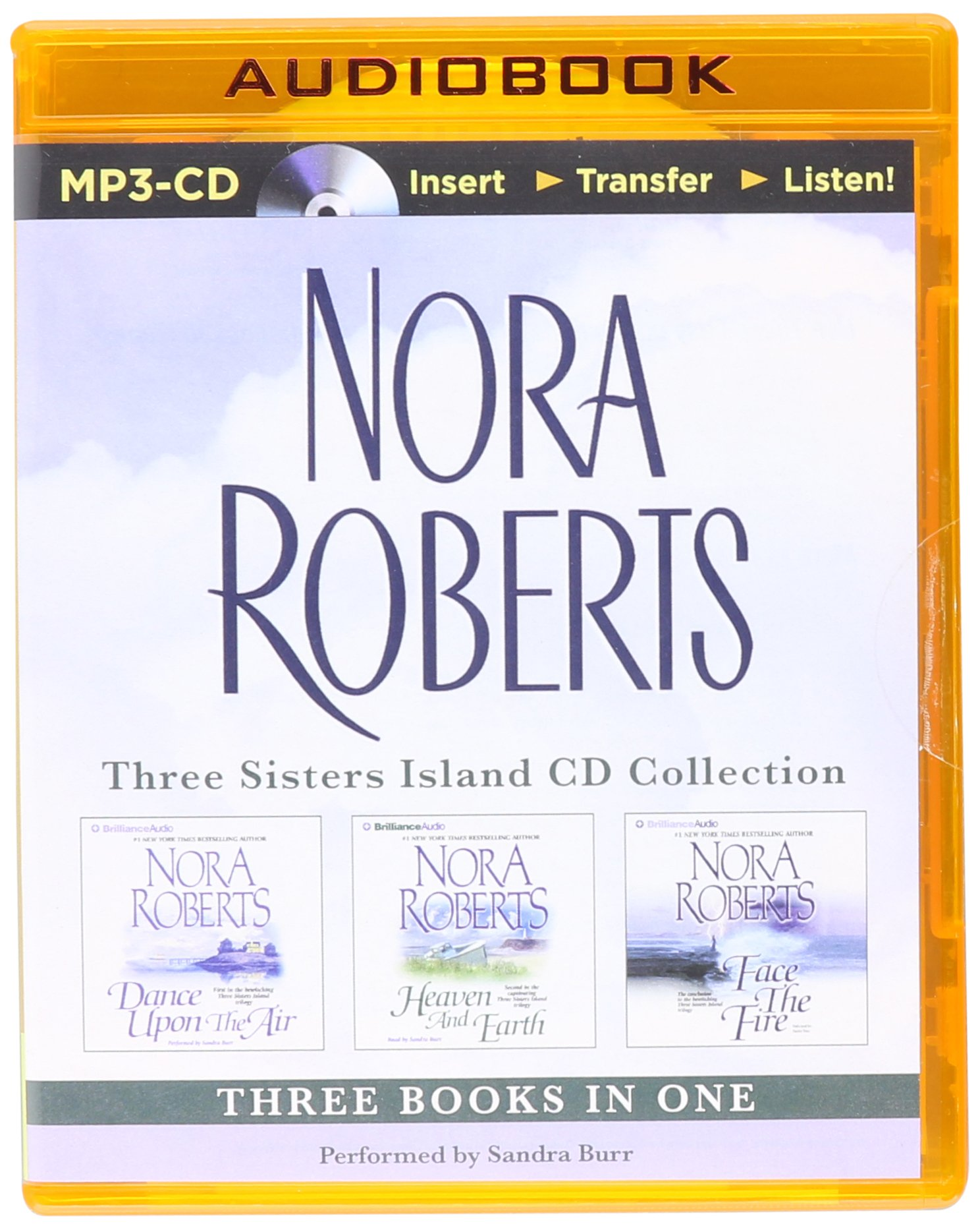 Nora Roberts – Three Sisters Island Trilogy (3-in-1 Collection): Dance Upon the Air, Heaven and Earth, Face the Fire