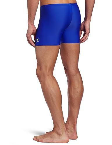3f2068145a Amazon.com : TYR Sport Men's Square Leg Short Swim Suit : Athletic Swim  Jammers :