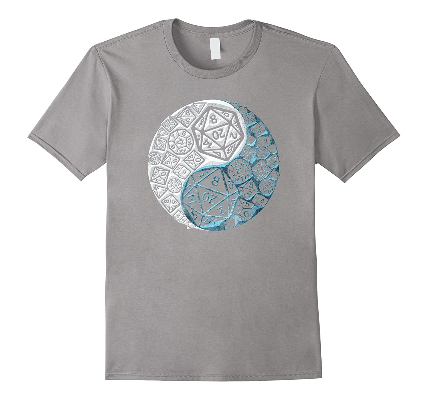 Premium YIN YANG GOOD AND EVIL Epic Dice T-shirt-CD