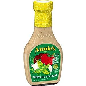 Annie's Gluten Free Natural Tuscany Italian Dressing 8 fl oz Bottle