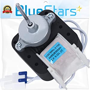 Ultra Durable 4680JB1026H Refrigerator Condenser Cooling Fan Motor Replacement Part by Blue Stars – Exact Fit For LG & Kenmore Refrigerators - Replaces PS3523107 AP4440743