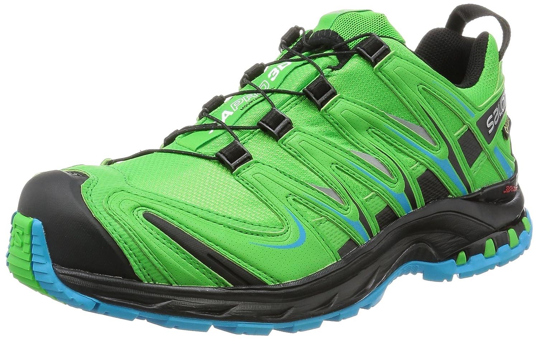 [サロモン] SALOMON トレッキングシューズ XA PRO 3D ゴアテックス 防水 登山靴 B01H5CYS26 26.5 cm PEPPERMINT / BLACK / SCUBA BLUE