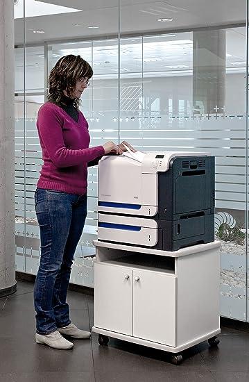 Mesa fotocopiadora e Impresora ber-copian50 Blanco Roto de 60h ...