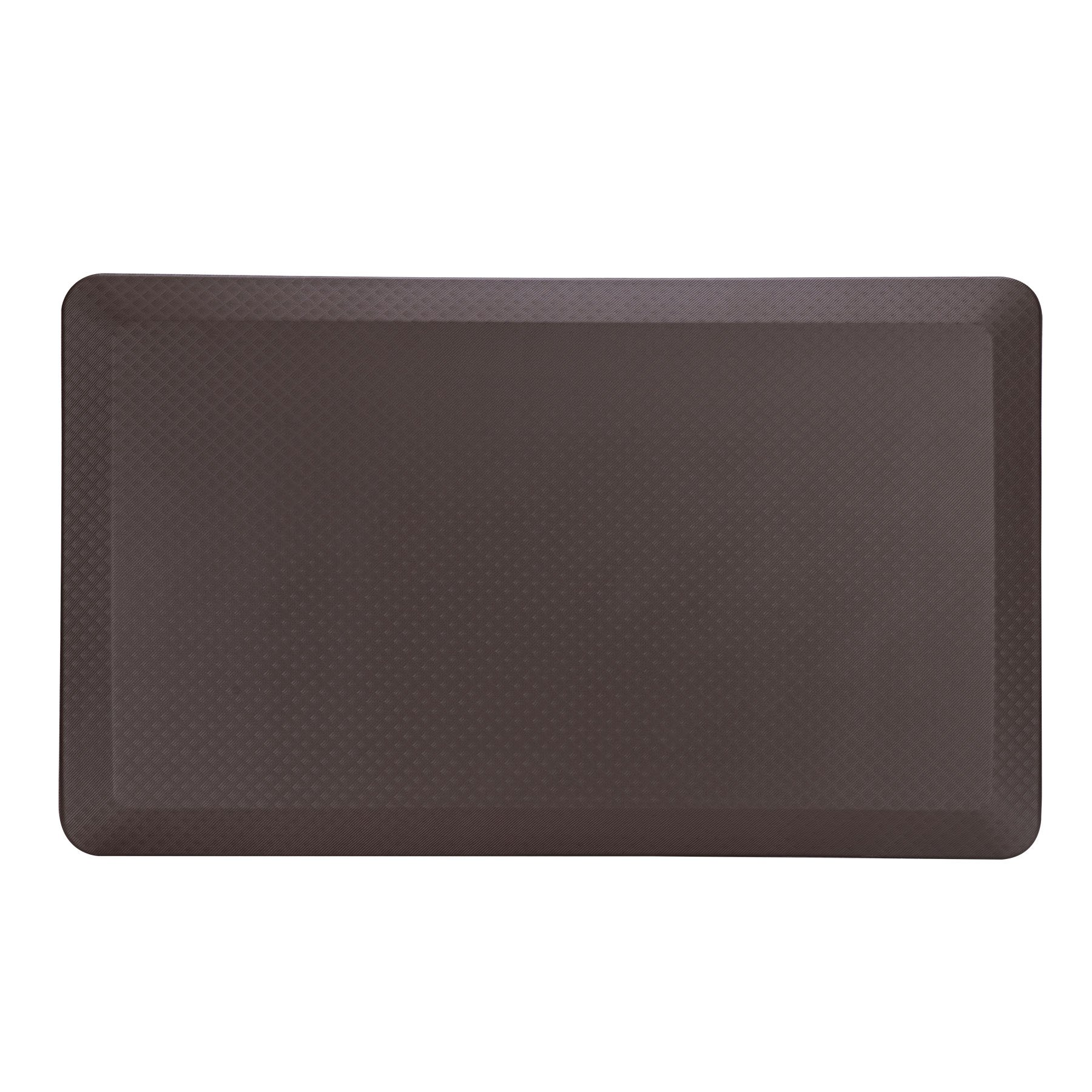 CO-Z 3/4'' Thick Anti-Fatigue Comfort Mat Non-Toxic Waterproof Oil Proof Kitchen Floor Mat PU PVC Eco-Friendly Easy to Clean, 39'' x 20''
