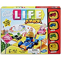 the Game of LIFE - Junior - 2 to 4 Players - Kids Board Games - Ages 8+