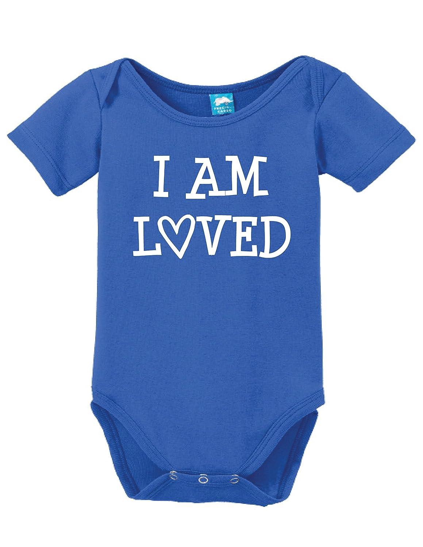 I am Loved Onesie Funny Bodysuit Baby Romper SU655313
