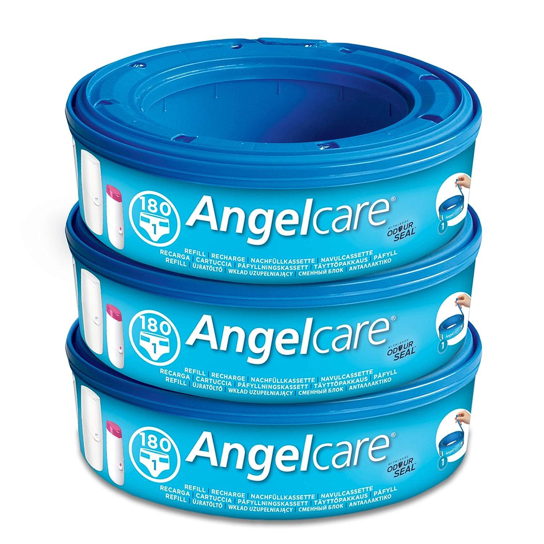 AngelCare Clasic - Recambios contenedor de pañales 3 Piezas