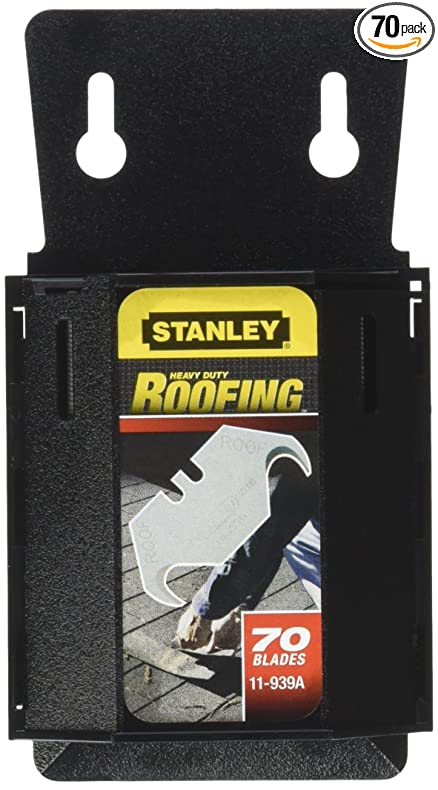 Stanley 11 939A Roofing Utility Blades, 70 Pack