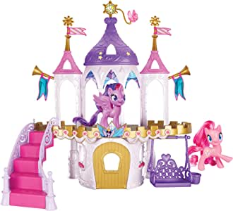 My Little Pony Friendship Castle Playset Including Twilight Sparkle and Pinkie Pie Pony Figures (Amazon Exclusive)