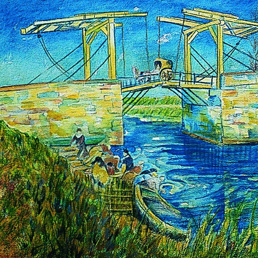 VAN GOGH Pencil 60 colored pencil Metal Case by Van Gogh (Image #4)