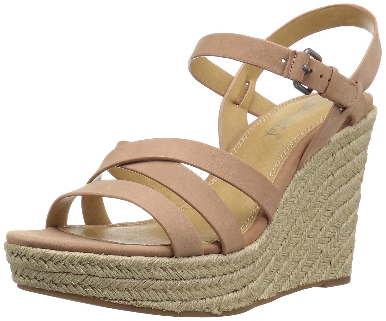 Splendid Women's Billie Wedge Sandal B072QZLBHG 8 B(M) US|Dark Blush