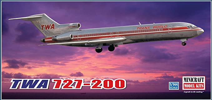 Minicraft TWA 707-331 1//144 Scale