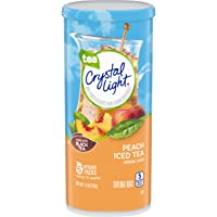 Crystal Light Peach Iced Tea Drink Mix (72 Pitcher Packets, 12 Packs of 6)
