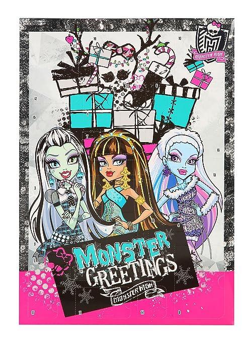 2 opinioni per Undercover MHCP8020- Calendario dell'avvento di Monster High, con 24 articoli di