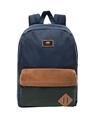 Amazon.com | VANS Old Skool II Backpack Dress Blues Darkest Spruce ...