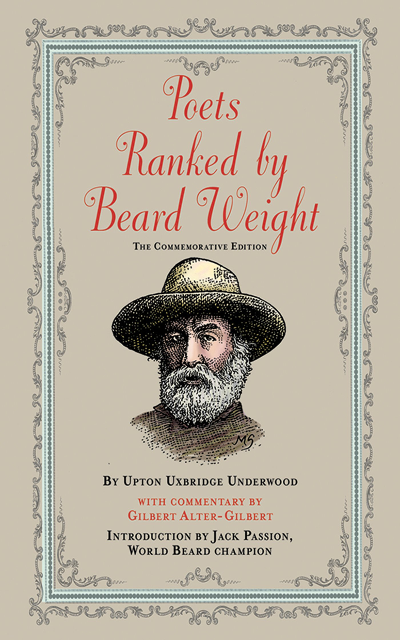 Beard Weight: Thememorative Edition: Upton Uxbridge Underwood,  Mahendra Singh, Jack Passion, Gilbert Altergilbert: 9781616082451:  Amazon: Books