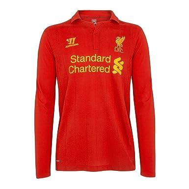 Warrior Kids Liverpool - Camiseta de fútbol y fans infantil, tamaño M, color high risk red: Amazon.es: Ropa y accesorios