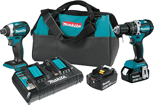 Makita XT275PT 5.0Ah 18V LXT Lithium-Ion Brushless Cordless Combo Kit 2 Piece