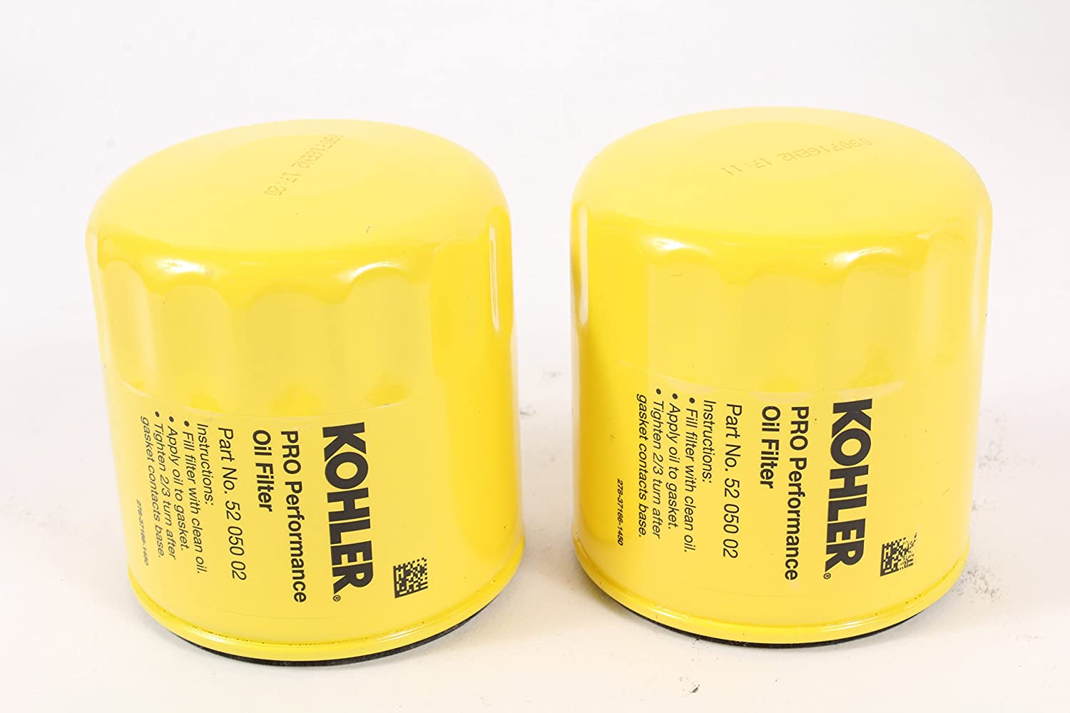Kohler 52 050 02 S Engine Oil Filter Extra Capacity For 1450 Cub Cadet Schematic Ch11 Ch15 Cv11 Cv22 M18 M20 Mv16 Mv20 And K582 Lawn Mower Filters
