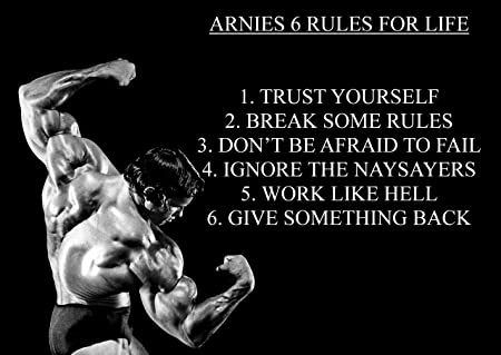 Arnies 7 rules for dating