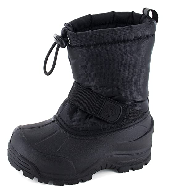Northside Frosty, Black, 4 M US Big Kid best kids' snowboots
