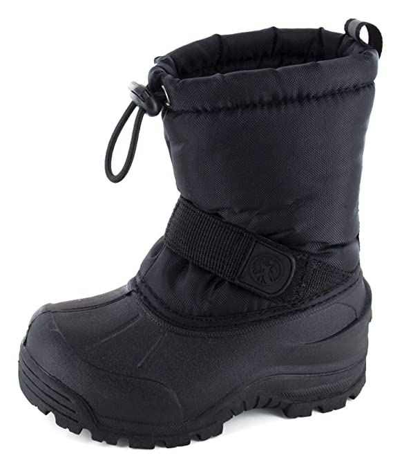 Northside Frosty Winter Boot (Toddler/Little Kid/Big Kid),Black,6 M US Toddler