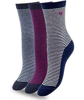 CHUANGLI 5 Pairs Children Wool Blend Socks Thicker Warm Socks Random Color