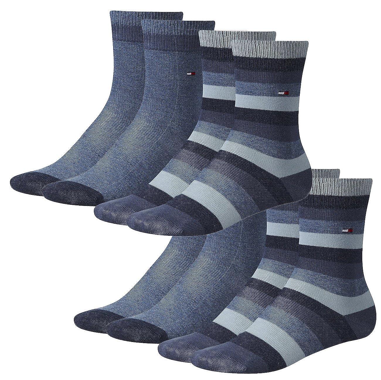 Tommy Hilfiger Socken Kids Basic Stripe Sock 4er Pack