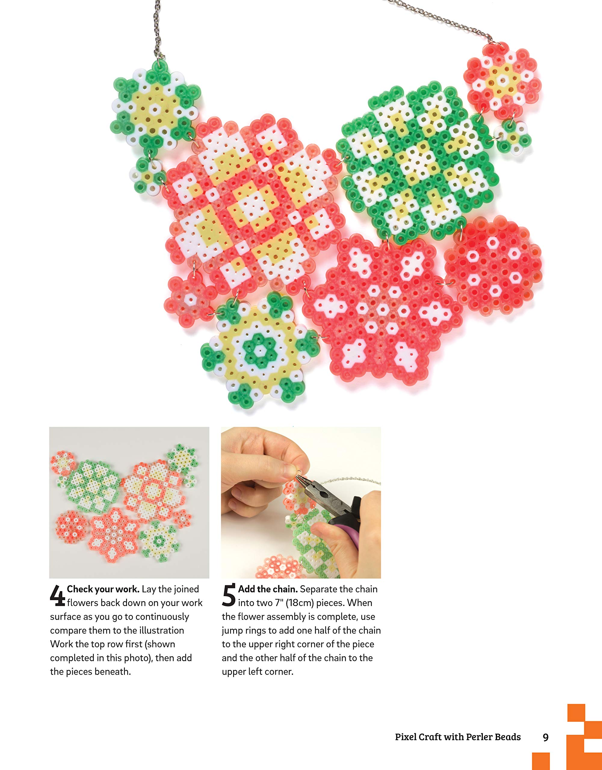 Amazon com: Pixel Craft with Perler Beads: More Than 50