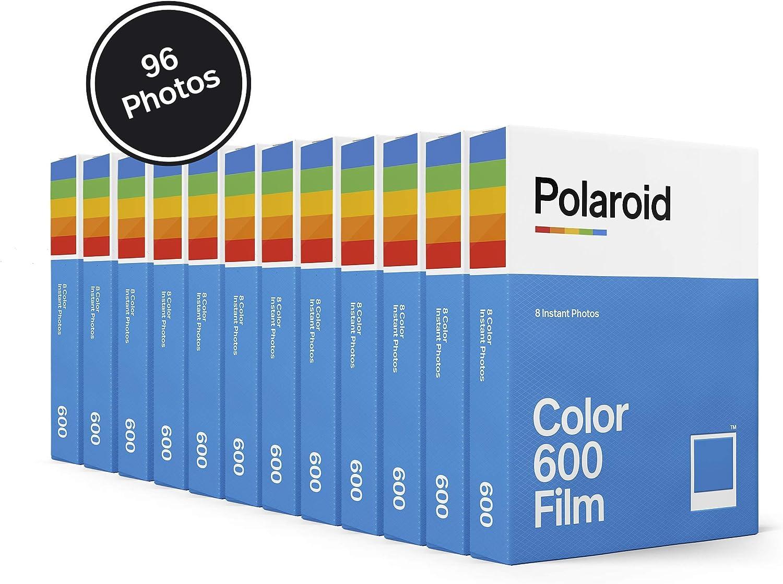 Color Film x96 Photos 6014 Polaroid Originals Color 600 Film 12 Pack 96 Photos