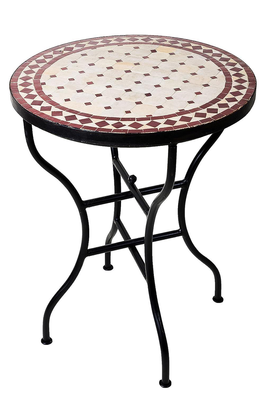 Original Marokkanischer Mosaiktisch Bistrotisch O 60cm Gro Ss Rund