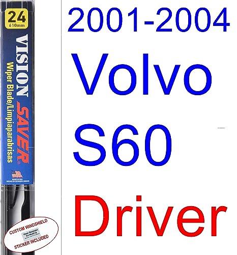 Amazon.com: 2001-2004 Volvo S60 Wiper Blade (Driver) (Saver ...