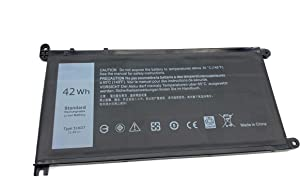 ENHONGFENG 51KD7 11.4V 42Wh Replacement Laptop Battery for Dell Chromebook 11 3180 Chromebook 11 3189 Series 0Y07HK Y07HK FY8XM