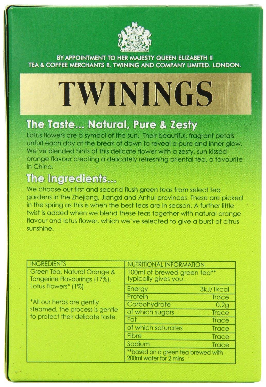Amazon twinings orange lotus flower green tea 40g amazon twinings orange lotus flower green tea 40g grocery tea sampler grocery gourmet food izmirmasajfo Images