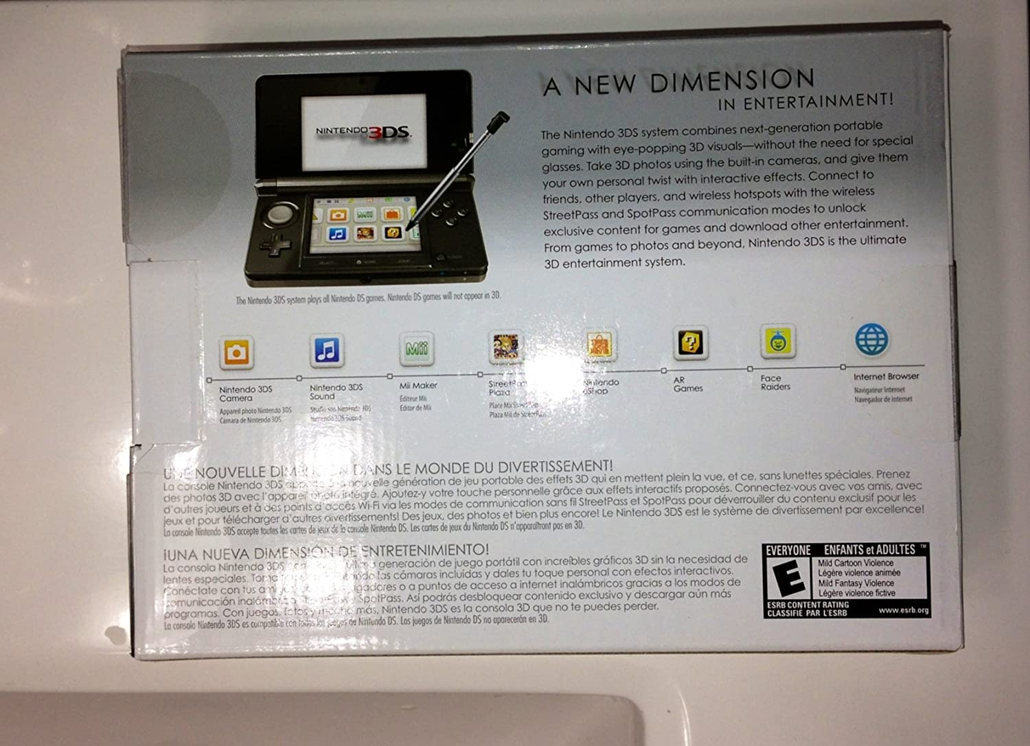 Amazon.com: 3DS Handheld Game Console Black,Includes ...