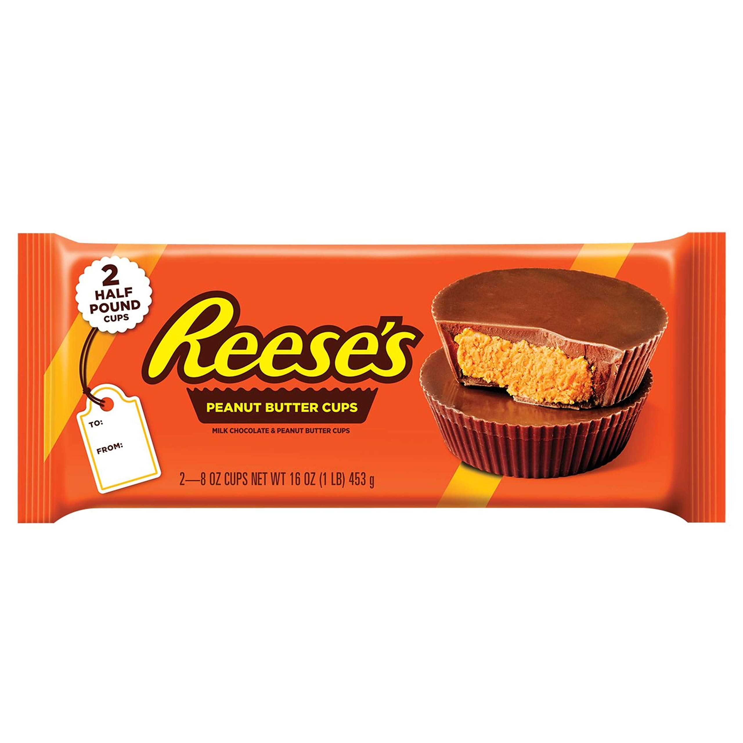 Reese's Milk Cups Candy Easter Gift Lb. Pack, Peanut Butter and Chocolate, 16 Ounce
