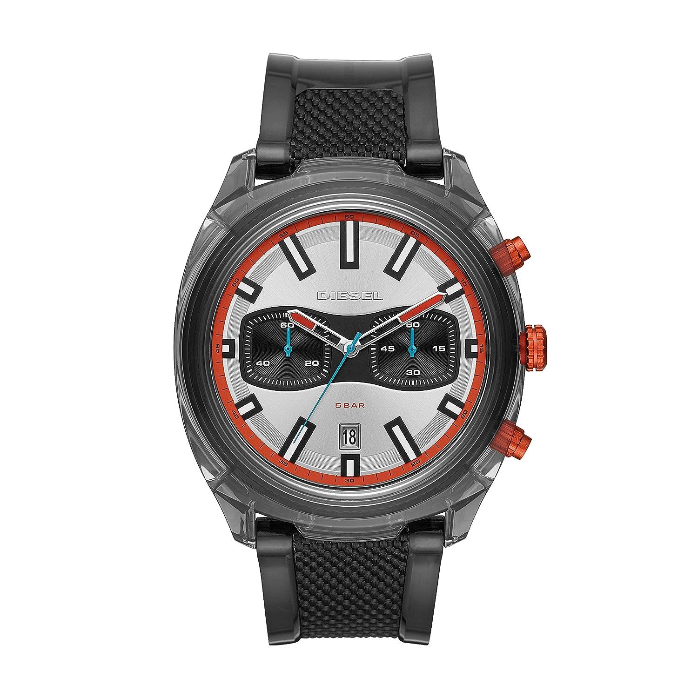 Diesel Reloj Cronógrafo para Hombre de Cuarzo con Correa en PU DZ4509